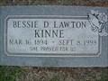 Image for 105 - Bessie Kinne - Bethany Cem. - Bethany, OK