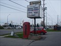 Image for Red Telephone Box - Kingston, Ontario