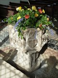 Image for Baptism Font, St Andrew's Church - Walberswick, Suffolk