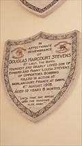 Image for Douglas Harcourt Stevens plaque - St Bartholomew - Bobbing, Kent