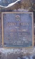 Image for Denny Creek Historal Marker - Klamath County, OR