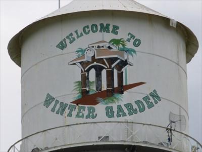 Winter Garden - Historic District - Water Tower - Florida.