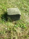 Image for 1881 Survey Stone on Ohio-Pennsylvania border, Offset 25 feet (Mile 45)