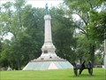 Image for The Confederate Mound Monument - Oak Woods Cemetery, Chicago, IL