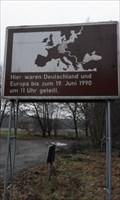 Image for Brockenschild / Iron Curtain Sign - near Bergen/Dumme, Germany