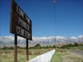 Image for Lone Pine Pioneer Cemetery - Lone Pine, CA