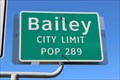 Image for Bailey, TX - Population 289