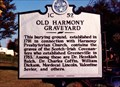 Image for Old Harmony Graveyard-1C 52-Greeneville