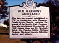 Image for Old Harmony Graveyard-1C 52-Greeneville