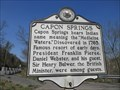 Image for Capon Springs