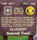 Image for Camp ANF-3 (Red Bridge) - Allegheny National Forest - McKean County, Pennsylvania