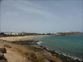 Image for Playa las Cucharas - Costa Teguise, Lanzarote, Canary Isles, Spain.