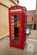 Image for Red Telephone Box - Devil's Lane, Bishop's Stortford, UK
