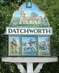 Image for Village Sign, Datchworth, Herts, UK