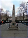 Image for George Dance Obelisk - Circus Place, London, UK