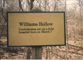 Image for Williams Hollow - Pea Ridge National Battlefield, AR