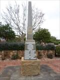 Image for Margaret River War Memorial,  Western Australia