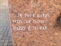 Image for Harry S. Truman - Alabama Institute for Deaf and Blind - Tuscambia, AL USA