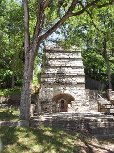 Taylor Lime Kiln No 1 Austin Tx Ovens And Kilns On Waymarking Com