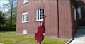 Image for Kontrabass vor der Musikschule  -  Herten, Germany