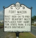 Image for Fort Macon, Marker C-9