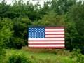 Image for Neon American Flag - Colrain, MA