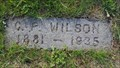 Image for C. P. Wilson - Mt. Union Cemetery - Philomath, OR