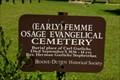 Image for Femme Ossage Evanglelische Cemetery,  Femme Ossage MO