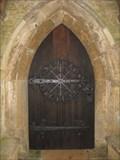 Image for St Mary's Church Door - Hardwick, Oxfordshire, UK