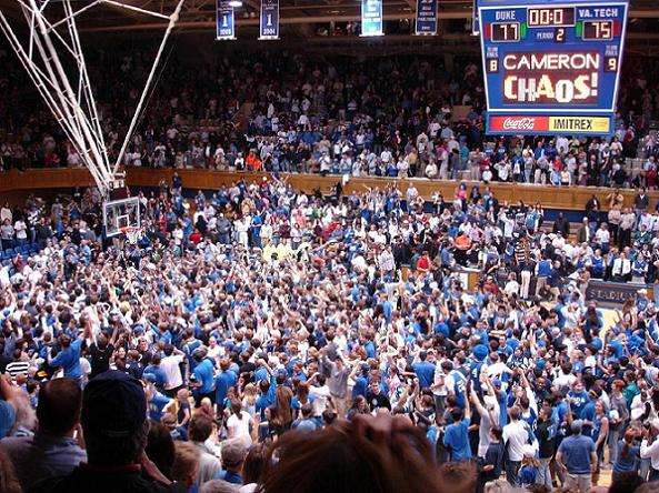 Duke Basketball Arenas: Cameron Indoor Stadium 1940