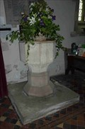 Image for Font, St Peter & St Paul, Eye, Herefordshire, England