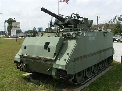 M163 Vulcan Air Defense System Vfw 6602 Hinesville Ga