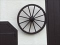 Image for Wagon Wheel Decoration - Trillfingen, Germany, BW