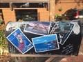 Image for California Postcards Mailbox - Santa Cruz, California