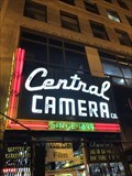 Image for Central Camera sign - Chicago, IL