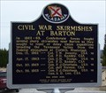 Image for Civil War Skirmishes at Barton/Civil War Skirmishes at the Barton Cemetery - Barton, AL