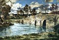 "Image for ""March Morning, Newby Bridge"" by Claude Muncaster – Newby Bridge, Cumbria, UK"