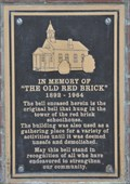 Image for The Old Red Brick ~ 1892 - 1964