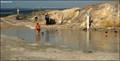 Image for Laghetto di Fanghi - Mud Baths at Vulcano Island (Aeolian Islands, Sicily)