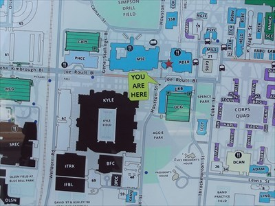 Texas A&M Campus - College Station,TX - 'You Are Here' Maps on ... on bsu map, yale map, stanford map, uk map, auburn university map, tamiu campus map, burma border map, cu map, college station map, shsu map, uh map, sfu map, mcgill map, duke map, tech map, mong la map, harvard map, aggie map, coastal map, ttu map,