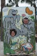Image for Manatee Cutout - Apollo Beach, Florida