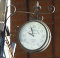 Image for Clock on The Crown pub, St John's, Worcester, Worcestershire, England