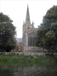 ...the Church of the Holy Trinity, from the river.