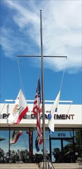 Image for Newport Beach Police Department Nautical Flagpole - Newport Beach, CA
