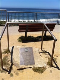 Setting of Plaque, Santa Cruz, CA