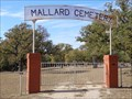 Image for Mallard Cemetery - Mallard, TX