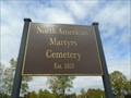 Image for Martyr's Cemetery - Wardsville, Ontario