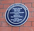 "Image for ""Plaque for Atlantic Cable Pioneer Daniel Gooch"" -- Windsor & Eton Railway Station, Windsor, Berkshire, UK"
