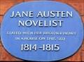 Image for Jane Austen - Hans Place, London, UK
