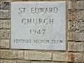 Image for 1947  - St. Edwards Catholic Church - Athens, TX